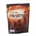 Galaxy Minstrels Pouch (LRG 130g Bag) (Best Before: 29/10/17)