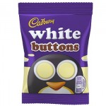 Cadbury WHITE Buttons (UK) (32.4g) (Best Before: 03.03.19) **50% OFF**