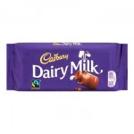 Cadbury Dairy Milk Chocolate Block - 110g (BB: 02.08.21)