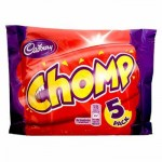 Cadbury Chomp 5 Pack (5x23.5g) (Best Before: 22/04/17) **NEW**