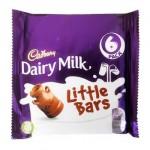 Cadbury Dairy Milk Kids Little Bars - 6 PACK (6x18g) (Best Before: 27.06.18)