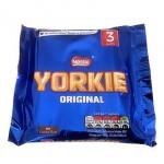 Yorkie Original Chocolate - 3 Bars MULTI (3x46g) (Best Before: 03/2018)