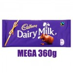 Cadbury Dairy Milk MEGA Chocolate Bar - 360g (BBD: 02.07.20)