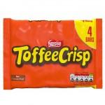 Nestle Toffee Crisp MULTI - 4 PACK (4x31g) (Best Before: 05/2020)