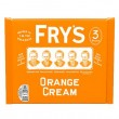 Frys ORANGE Cream Chocolate - MULTI -3 Pack (3x49g) (Best Before: 30.04.20)