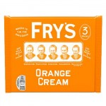 Frys ORANGE Cream Chocolate - MULTI -3 Pack (3x49g) (BB: 30.06.21) (25% OFF)
