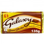 Galaxy CARAMEL Block - 135g (Best Before: 05.07.20)