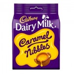 Cadbury CARAMEL NIBBLES Pouch (120g) (Best Before: 19.01.20) (4 Left)