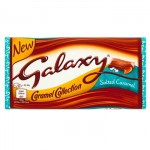 Galaxy SALTED CARAMEL Chocolate (135g BLOCK) (Best Before: 12.01.20) (SALE)