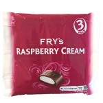 Frys RASPBERRY Cream - MULTI - 3 Pack (3x49g) (BB: 31.08.21)