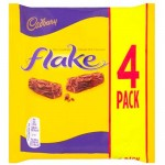 Cadbury Flake 4 Pack - MULTI (4x20g) (BB: 17.07.21) (SALE)