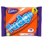Cadbury Fudge Bar - 5 PACK - MULTI (110g) (Best Before: 09.04.21) **50% OFF**