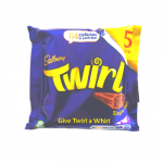 Cadbury Twirl - MULTI - 5 Bars (5x21.5g) (BB: 25.06.21) (SALE)