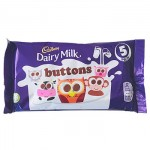 Cadbury Buttons 5 Pack - Multipack - 5x14g (Best Before: 30.06.20)
