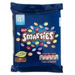 Smarties Multipack - 4 x 38g (Best Before: 07/2020)