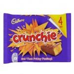 Cadbury Crunchie Bars - 4 PACK - MULTI (4x26.1g) (BB: 12.04.21)