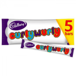 Cadbury Curly Wurly - MULTI - 5 PACK (108g) (BB: 05.07.21) (SALE)