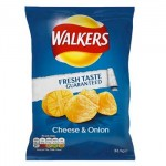 Walkers Cheese & Onion Crisps (32.5g) (Best Before: 11/11/17)