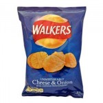 Walkers Cheese & Onion (32.5g) (Best Before: 9/7/16)