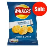 Walkers Cheese & Onion (32.5g) (Best Before:  08.09.18) (REDUCED - 7 Left)