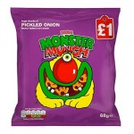 Monster Munch PICKLED ONION (PMP - LARGE 60g) (Best Before: 10.10.20)