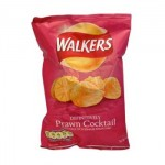 Walkers Prawn Cocktail Crisps (32.5g) (Best Before: 23/7/16) (OUT OF STOCK)