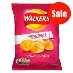 Walkers PRAWN COCKTAIL Crisps (32.5g) (Best Before: 09.10.21) (50% OFF)
