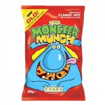 Monster Munch FLAMIN HOT (40g) (Best Before: 22.09.18) (REDUCED)