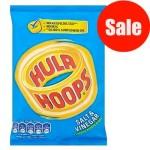 Hula Hoops Salt & Vinegar (34g)  (Best Before: 15.02.20) (REDUCED)