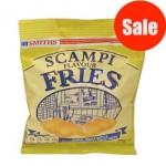 Scampi Fries (25g) (Best Before: 11/11/17) (50% Off)