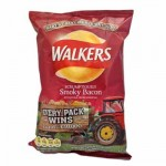 Walkers Smoky Bacon Crisps (32g) (Best Before: 9/7/16)