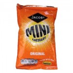 Jacobs Mini Cheddars (50g Bag) (Best Before: 03.10.20)