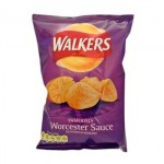 Walkers Worcester Sauce Crisps (32.5g) (Best Before: 11/3/17) **REDUCED**
