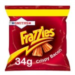 Smiths FRAZZLES Crispy Bacon PMP (34g) (Best Before: 12.11.19)