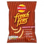 Walkers FRENCH FRIES Worcester Sauce Crisps (21g) (Best Before: 16.01.21)