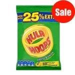 Hula Hoops CHEESE & ONION (43g) (Best Before: 30/09/17) **50% OFF**
