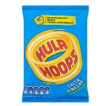 Hula Hoops SALT & VINEGAR - 43g (Best Before: 19/08/17) **NEW SIZE**