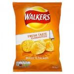 Walkers Roast Chicken Crisps (32.5g) (Best Before: 07/10/17) **REDUCED**
