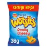 Walkers WOTSITS Cheese - GRAB BAG - 36g (Best Before: 21.09.19) (REDUCED)