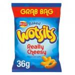 Walkers WOTSITS Cheese - GRAB BAG - 36g (BB: 19.12.20)