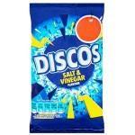 Discos Salt & Vinegar Crisps (34g) Price Marked (Best Before: 15.12.18) (5 for $10)