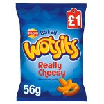 Walkers WOTSITS PMP (LARGE BAG - 56g) (Best Before: 22.12.18) (50% OFF)