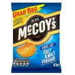 McCoys Salt & Vinegar Crisps - GRAB BAG - 47.5g (Best Before: 05.12.20) (DISCOUNTED)
