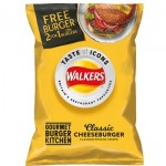 Walkers Classic Cheeseburger Crisps (32.5g) (Best Before: 18.07.20) *LIMITED EDITION* (6 Left)