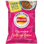 Walkers Las Iguanas Chilli Con Carne Crisps (32.5g) (Best Before: 18.07.20)  *LIMITED EDITION*