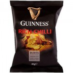Burts Guinness RICH CHILLI Crisps (40g) (Best Before: 16.01.21) (CLEARANCE - 80% OFF)