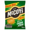 McCoys Cheddar & Onion - GRAB BAG - 47.5g (Best Before:  05.12.20) (CLEARANCE)