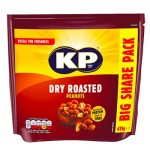 KP Dry Roasted Peanuts Pouch Pack - 415g