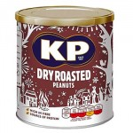 KP Dry Roasted Peanuts - 375g Tub