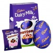 Cadbury Dairy Milk Buttons - Medium Easter Egg - 128g